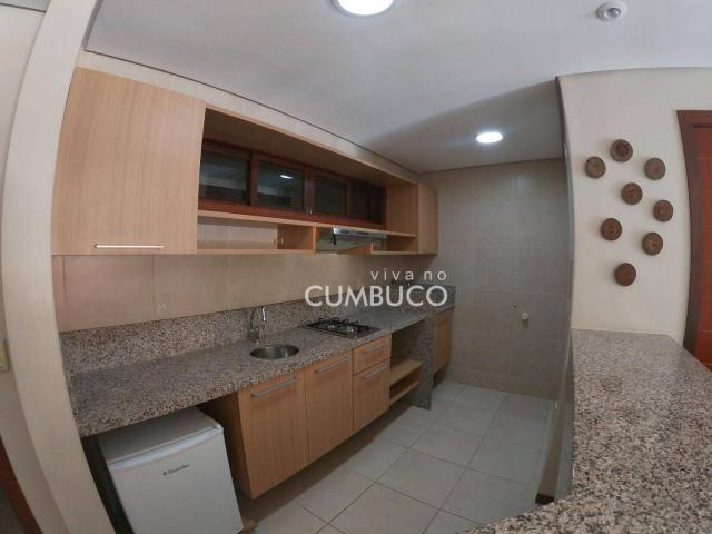 Apartamento com 1 dormitório à venda, 46 m² por R$ 285.000,00 - Cumbuco - Caucaia/CE - Foto 5
