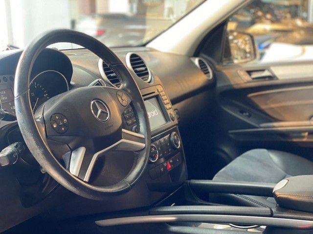 Mercedes ML 350 V6 Diesel, 2011, teto solar, impecável  - Foto 7