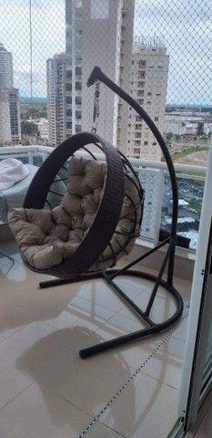 Balanço com suporte em fibra sintética  - Foto 2