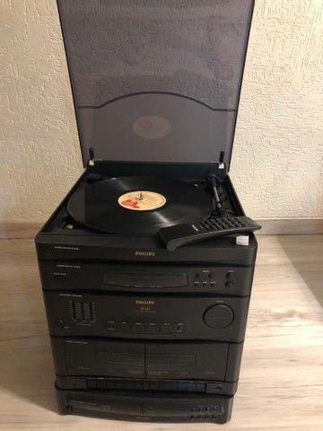 Toca discos com CD e com controle remoto - Foto 2