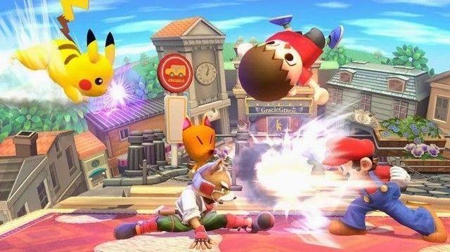 Jogo Super Smash Bros Wii U Usado - Foto 2