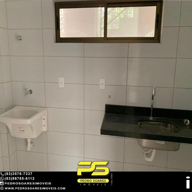 Apartamento com 2 dormitórios à venda, 50 m² por R$ 195.000 - Bancários - João Pessoa/PB - Foto 7