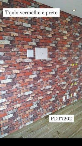 Papel de parede vinilico é importado  - Foto 6