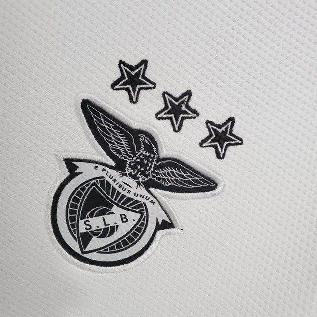 Camisa do Benfica Home 21/22 - Foto 4