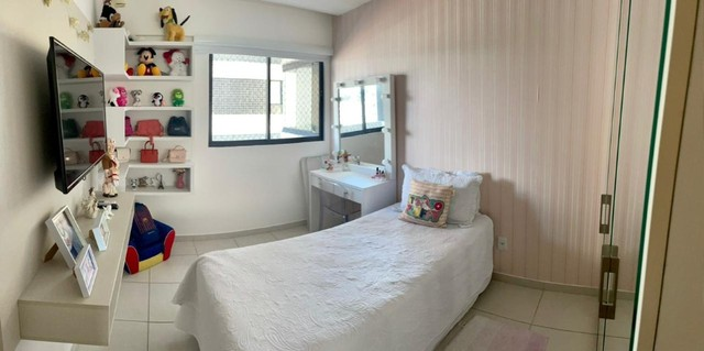 Apartamento na Jatiuca, 110m², 3/4-2 suites, varanda integrada - Foto 9