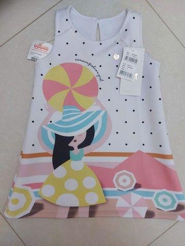 Vestido infantil 3 anos, novo com tag