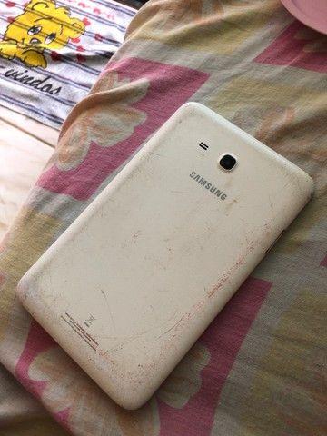 Tablet Samsung funcionando perfeitamente só a tela que está trincada - Foto 2