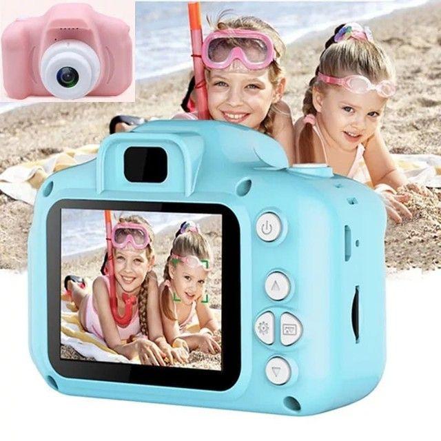 Mini Câmera HD com Jogos Infantil - Foto 2