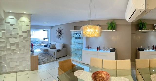 Apartamento na Jatiuca, 110m², 3/4-2 suites, varanda integrada - Foto 3