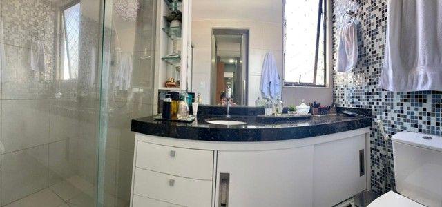 Apartamento na Jatiuca, 110m², 3/4-2 suites, varanda integrada - Foto 10