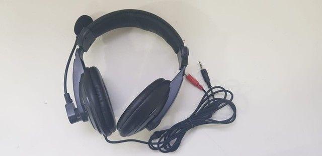 Fone de ouvido Headset C3 Tech P2 Voicer Confort  - Foto 3