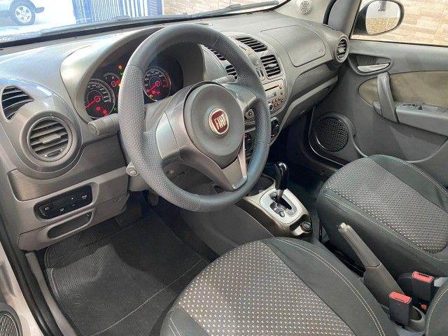 Fiat Grand Siena Essence 1.6, carro bem novo 2013 - Foto 7