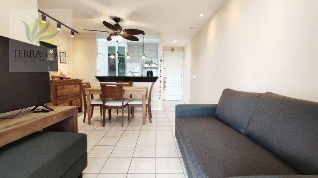 Apartamento com 3 dormitórios à venda, 80 m² por R$ 495.000,00 - Cocó - Fortaleza/CE - Foto 12