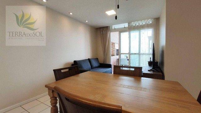Apartamento com 3 dormitórios à venda, 80 m² por R$ 495.000,00 - Cocó - Fortaleza/CE - Foto 5