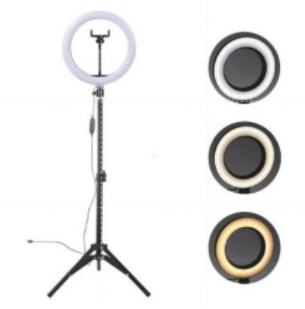 Ring Light 10 Polegadas (26 cm) - C/Tripé de 2,10 m ajustável