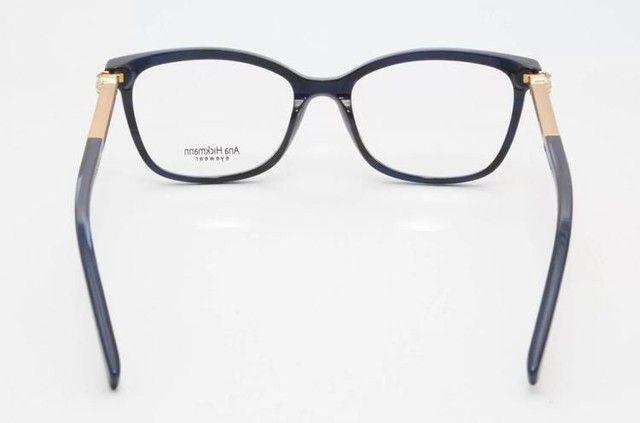 Óculos Armação com Lente Ana Hickman Usado  - Foto 4