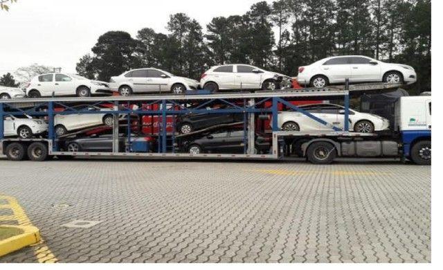 Ponto P transporte_cegonha caminhoes  para transporte carros motos etc com seguro - Foto 2