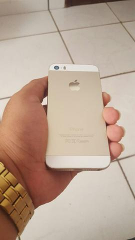 Iphone 5S Gold - R$ 1.000,00