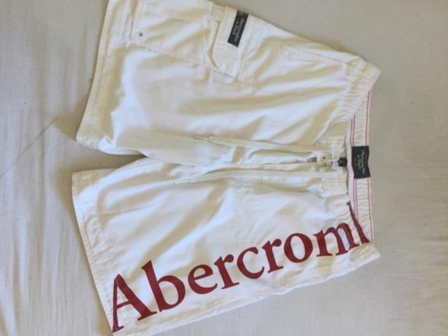 Bermudas masculinas originais ambercrombie