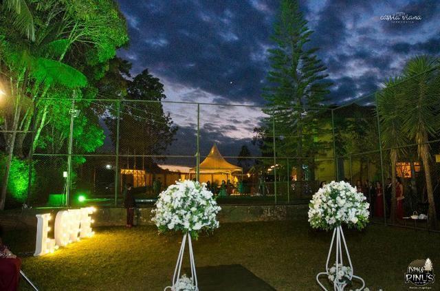 Granja para eventos e hospedagem em Juiz de Fora - Espaço Pinus - Foto 5
