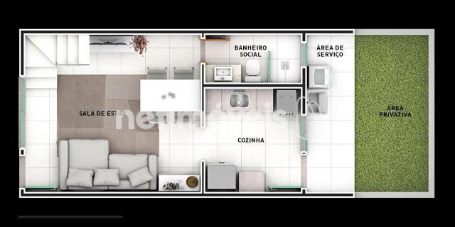 Casa de condomínio à venda com 2 dormitórios em São joão, Betim cod:731529 - Foto 9