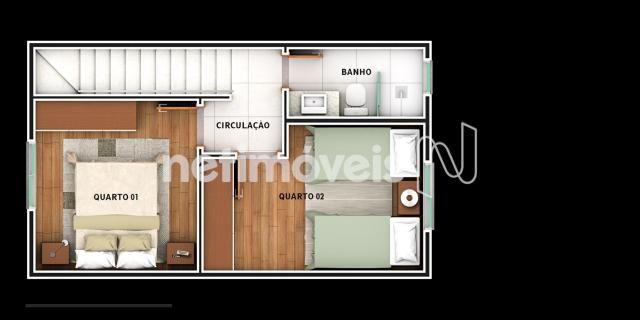 Casa de condomínio à venda com 2 dormitórios em São joão, Betim cod:731529 - Foto 8