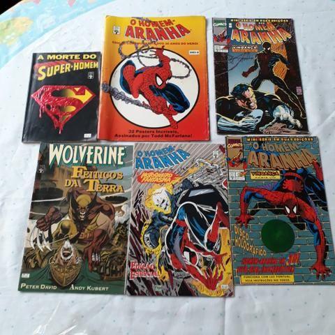 Lote 83 Gibis Diversos Marvel DC Image Nacionais e Americanos - Foto 6