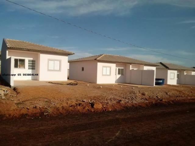 Casa para venda em várzea grande, paiaguas, 2 dormitórios, 1 banheiro, 2 vagas - Foto 15