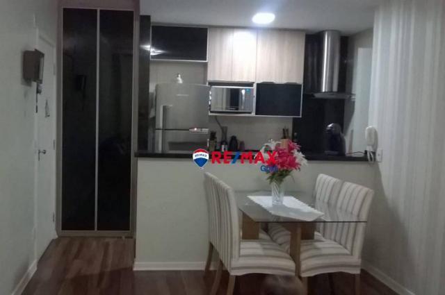Apartamento com 2 dormitórios à venda, 57 m² por r$ 350.000,00 - umuarama - osasco/sp