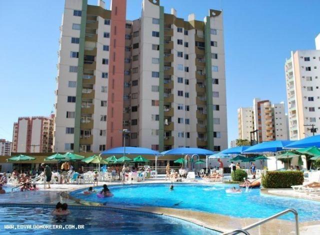 Apartamento 3 quartos para temporada em caldas novas, vitória thermas, 3 dormitórios, 1 su - Foto 11