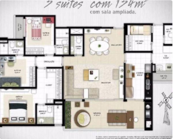 Apartamento à venda com 3 dormitórios em Patamares, Salvador cod:NL39860804 - Foto 3