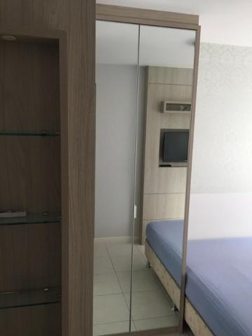 Apartamento de 02 dormitorios, com ampla sacada -Saco Grande - Foto 5