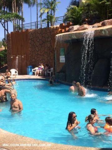Apartamento 2 quartos para temporada em caldas novas, golden dolphin grand hotel, 2 dormit - Foto 8