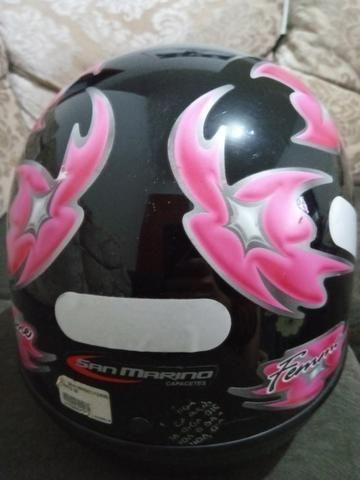 Vendo capacete San marino tamanho 56 - Foto 4