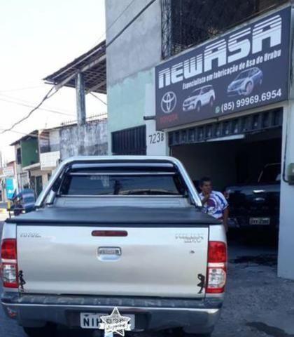 Asa/barros que protege as caixas dianteiras do seu veículo