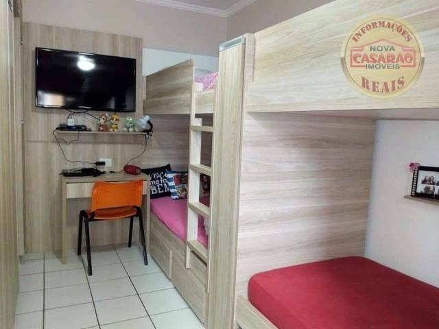 Apartamento com 2 dormitórios à venda, 89 m² por R$ 285.000 - Vila Tupi - Praia Grande/SP - Foto 13