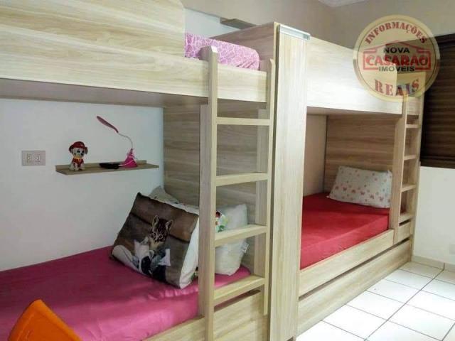 Apartamento com 2 dormitórios à venda, 89 m² por R$ 285.000 - Vila Tupi - Praia Grande/SP - Foto 14