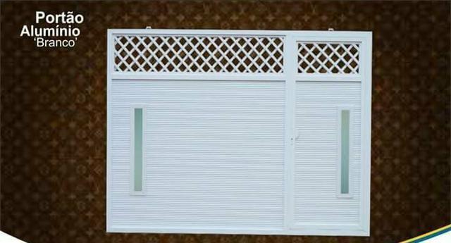 Portões de alumínio de todos os modelos - Foto 3