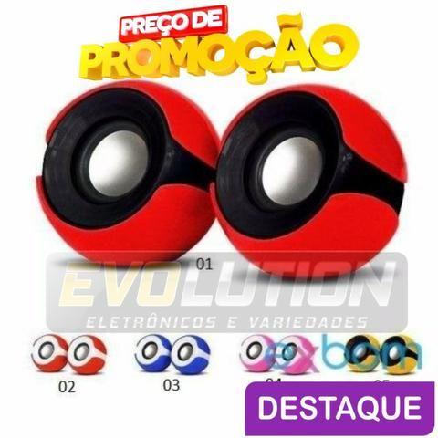 Mini Caixa De Som Usb 2.0 Exbom Cs-69