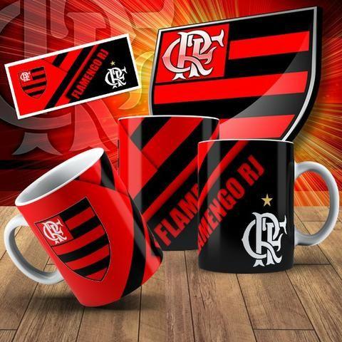 Canecas do Flamengo com Seu nome! - Foto 4