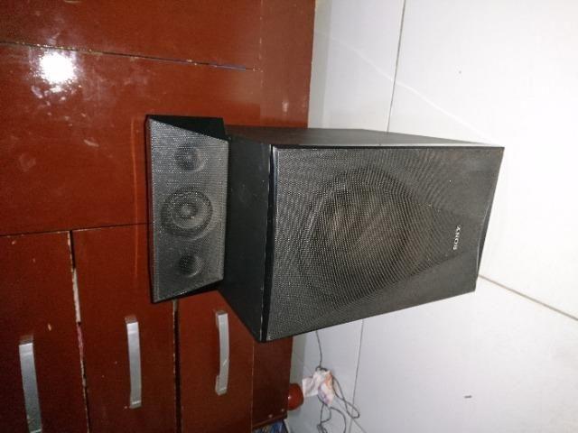 4Torres e 1 caixa central e o Subwoofer do home Theater sony Bdv-e6100 - Foto 2