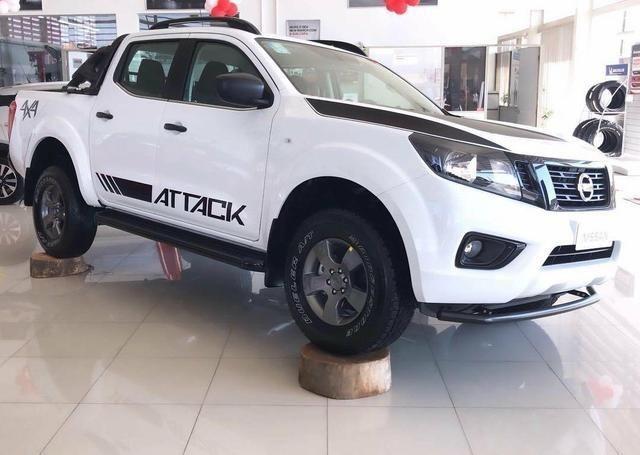 Nissan Frontier Attack Diesel 4x4 Automática 19/20 0km e ipva 2020