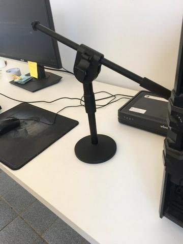 Suporte para microfone condensador mesa !