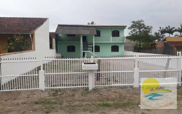 Casa com 2 dormitórios para alugar, 60 m² por R$ 450/dia - Brasília - Itapoá/SC - Foto 9