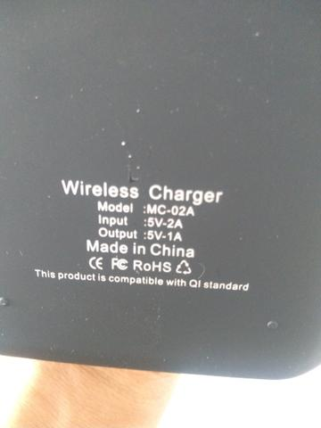 Carregador wireless para celular