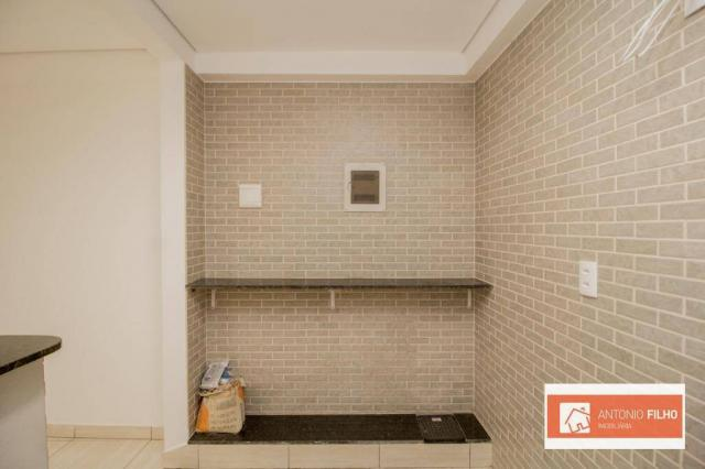 Casa com 2 dormitórios para alugar por R$ 1.600/mês - Setor Habitacional Arniqueiras - Águ - Foto 12