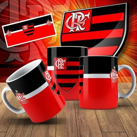 Canecas do Flamengo com Seu nome!