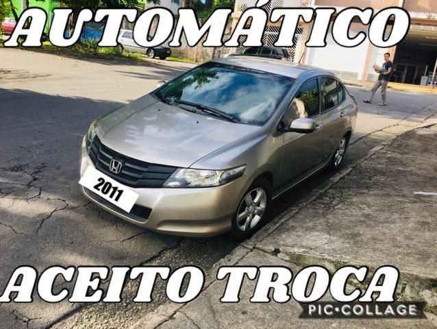 Honda City 2011 Automático Aceito Troca