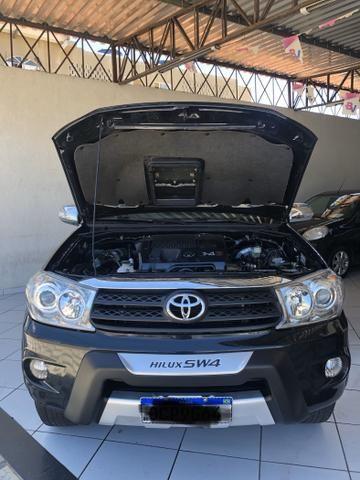 Toyota Hilux SW4 SRV 4x4 DIESEL 7P IPVA 2020 PAGO - Foto 16