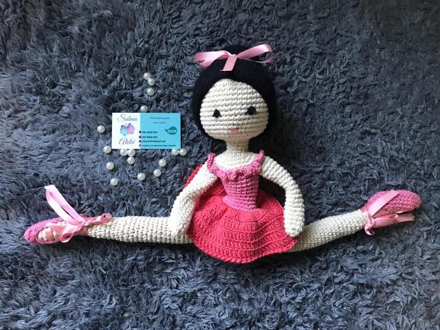 Vanessa Lovatel - Artes Feito à Mão: Boneca Bailarina Amigurumi de ... | 480x640